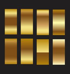 golden foil gradient texture background gold vector image