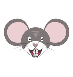 mouse animal chinese zodiac symbol vector image