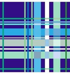 Tartan blue seamless pattern vector image