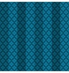 Blue oriental striped seamless pattern vector image
