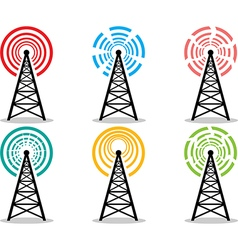 Cell tower pack vector