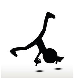 Cartwheel vector