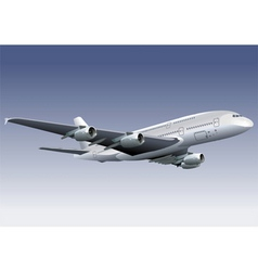 Jetliner a380 vector