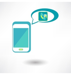 Phone Call Icon vector