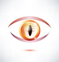 Snake eye vector