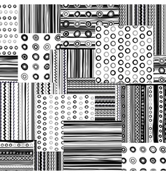 Backgrounds collage vector image