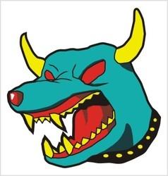 Dog Monster vector
