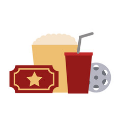 film set objects icon vector image