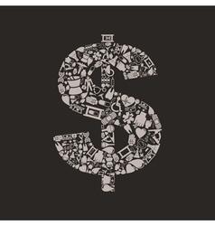 Medicine dollar vector