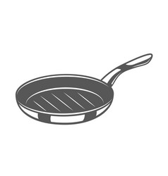 pan isolated on white background vector image