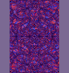 psychedelic tryppi colorful symmetrical pattern vector image