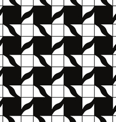 Retro mosaic seamless pattern background vector