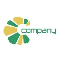 Sun Company vector image