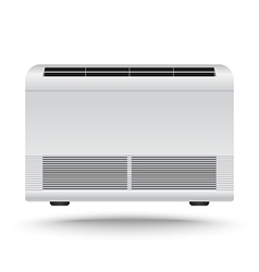 3D Realistic air conditioner vector image
