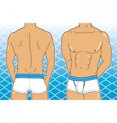 boxer brief vector image