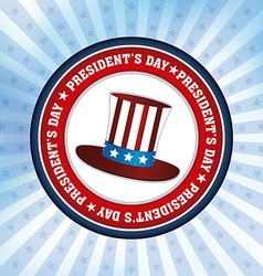 Presidents day vector image vector image