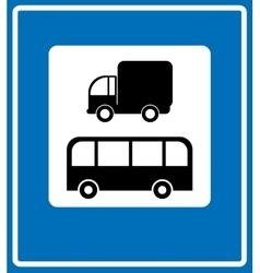 Road signs - european vector