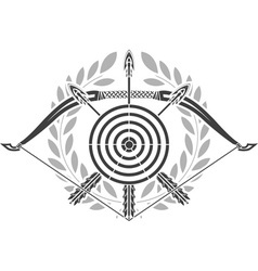 glory of archery vector image