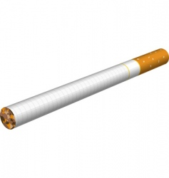 cigarette illustration vector image