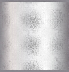 gray silver dotted background vector image
