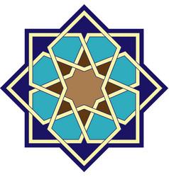 Islamic ornament geometric art vector