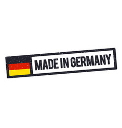 Made in germany rubber stamp icon vector