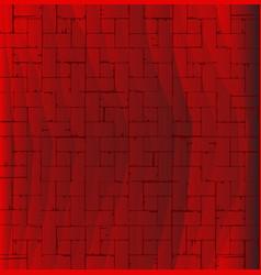 Red parquet flooring vector