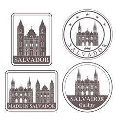 salvador vector image