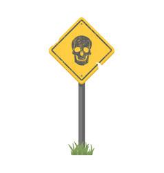 Sign single icon in cartoon stylesign vector