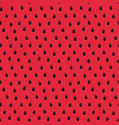sweet watermelon red pattern seamless texture vector image