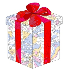 colorful gift vector image vector image