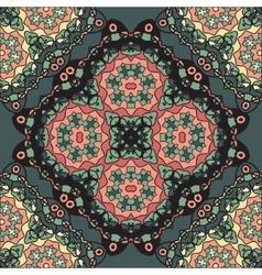 Abstract Retro Ornate Mandala Wallpaper for vector