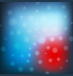Blue christmas background with lights abstract vector