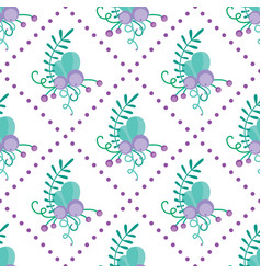 Cute seamless pattern with hand-drawn vector