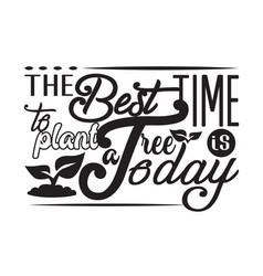 environment quote and saying good for t-shirt vector image