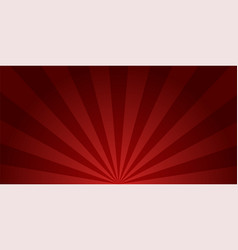 retro background sunburst red colored burst design vector image