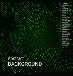 abstract neon halftone dots vector image