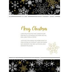 Minimalist christmas flyercard template vector