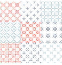 swirlesfilled3 vector image