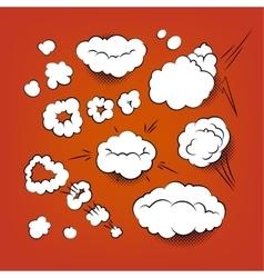 Comic Bubbles Bubbles vector image