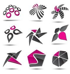 Abstract elements vector