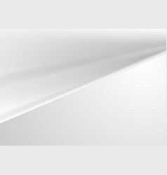 abstract light grey smooth background vector image