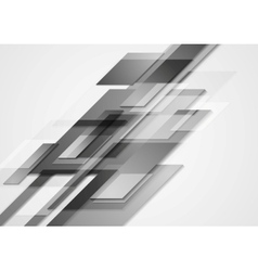 Grey hi-tech motion design vector image