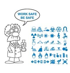 Hazard and danger Graphics vector