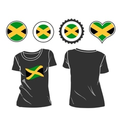 Jamaican T-Shirt vector