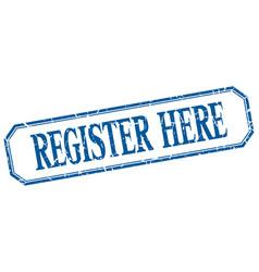 Register here vector