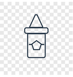 sauces concept linear icon isolated on vector image