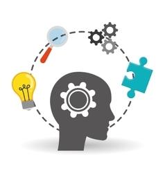Solution icon design vector
