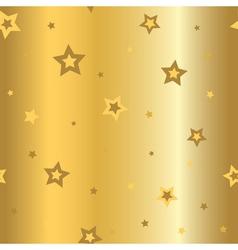 Stars gold background cartoon glitter vector