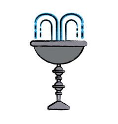 water fountain design vector image